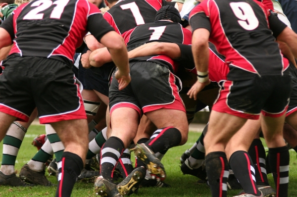 Rugby-Action